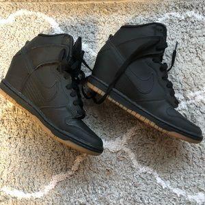 NIKE Dunk Sky High Wedge Sneaker